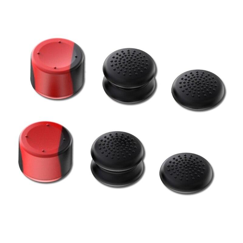 6 шт контроллер для большого пальца Кепки s рокер Кепки для PS5 геймпад Защитный чехол для джойстика в виде ракушки для Ipad Mini-Игровые приставки...