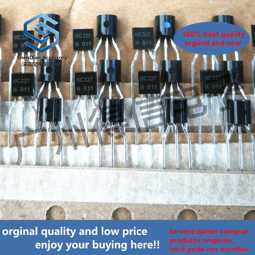50pcs 100% Orginal New BC327B BC327 TO-92 PNP Silicon AF Transistors  Real Photo