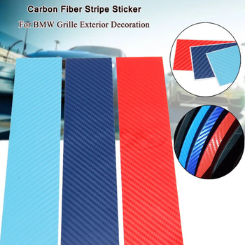 Bmw E90 Strips Sticker for BMW E46 E90 E60 Decal Style Carbon Fiber Strips Sticker Car Styling Accessories Automobiles image