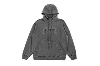 2019 CAV EMPT Logo Embroidery Women Men Distressed Hoodies Pullover Hiphop Streetwear Men Thick Hoodie Sweatshirt Autumn Winter