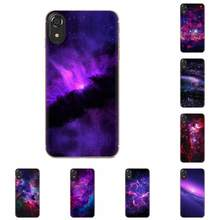 TPU Coque Interstellar Purple Space StarสำหรับSamsung Galaxy Note 8 9 10 Pro S4 S5 S6 S7 S8 S9 s10 S11 S11E S20 EDGE PLUS(China)