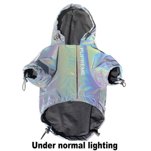Image 4 - Fashion Dog Clothes Flashing Pet Dogs Hoodie for Dog Coat Windbreaker Reflective Clothing for Large Small Dogs Puppy Jacket Pug