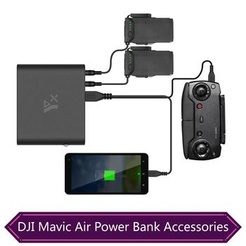 DJI Mavic Air Power Bank Charger USB Mobile Power Intelligent Battery Charging AIR Quadcopter Converter Accessories Dropshipping цена 2017