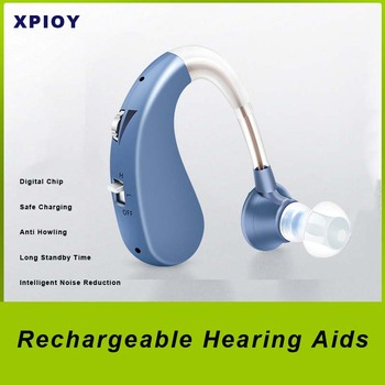 XPIOY akumulatorowe aparaty słuchowe DropShipping najlepsze aparaty słuchowe cyfrowe wzmacniacze dźwięku aparaty słuchowe aparaty słuchowe tanie i dobre opinie SP-VHP-1204 Rechargeable Hearing Aids silicone 43*11 4mm