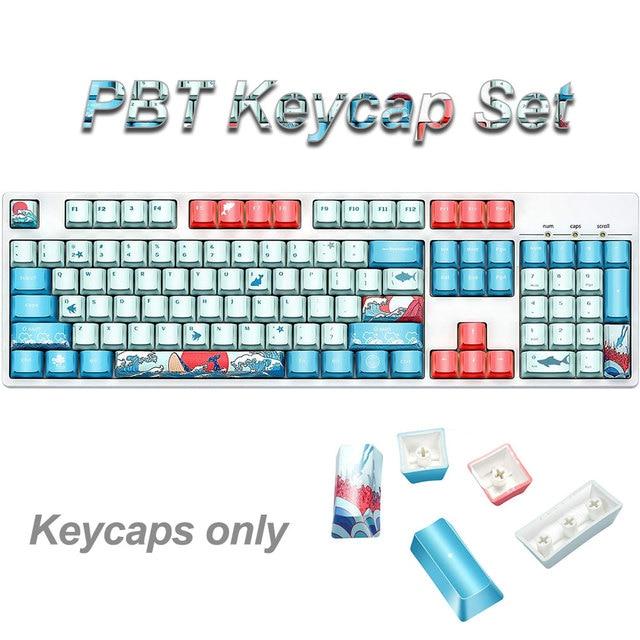 Купить колпачки для клавиш 108key pbt ahegao сублимационная печать картинки цена