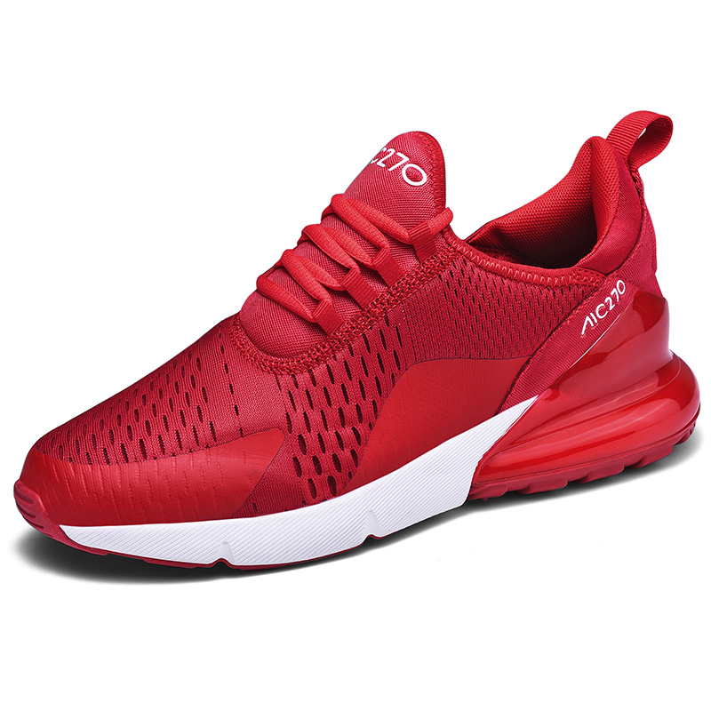 Running Shoes Men Sneakers Breathable Zapatillas Hombre 270 Couple Fitness Sneakers Women Air Cushion Trainers Outdoor Sport Men