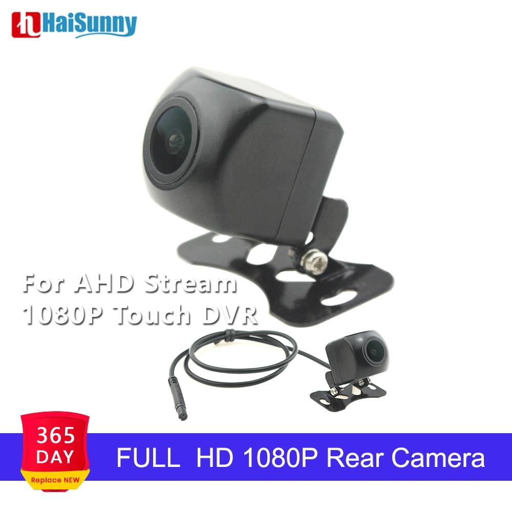 Car Backup Rear Camera Full HD 1080P Night Vision 170 Degree 4 Pin For Parking Monitor Dual Lens Streaming Rearview Mirror DVR