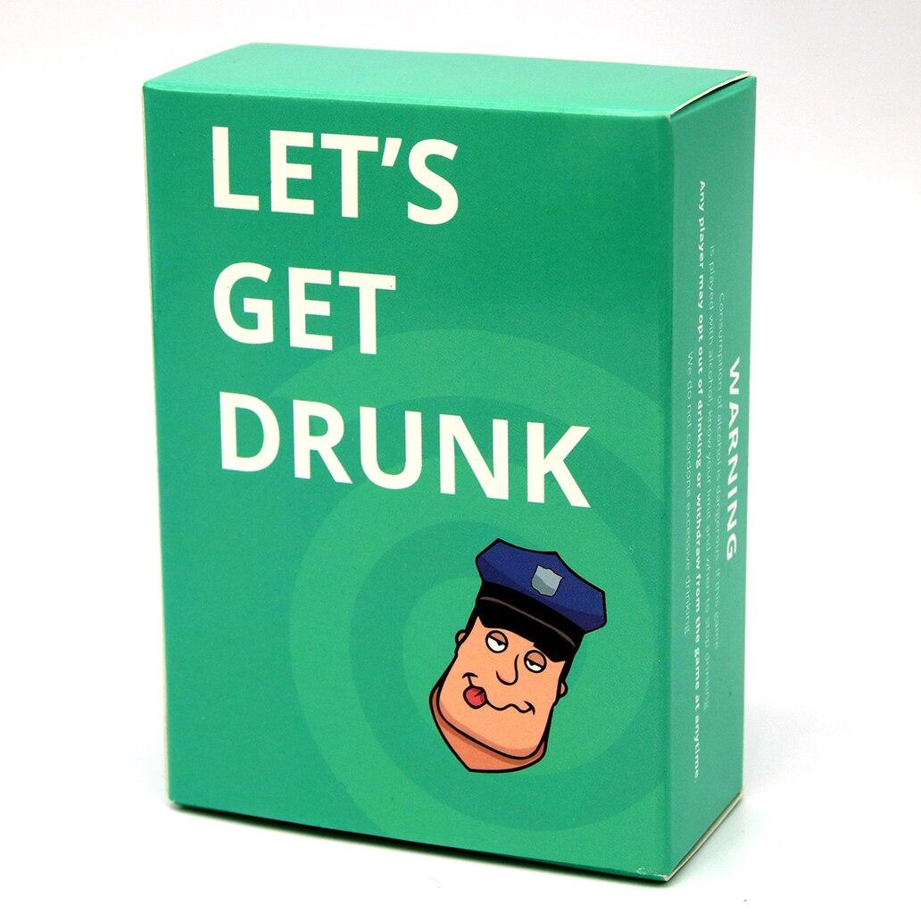 Let's Get Drunk Card Game