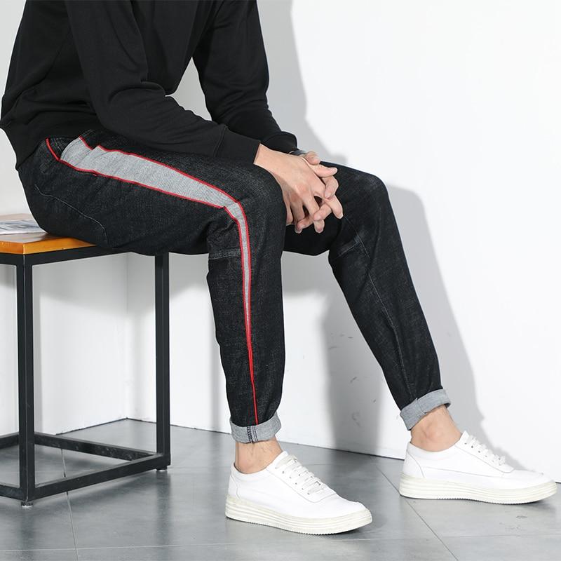 Plus 7XL 6XL 5XL Big Size Jeans Men Loose Large Size Japanese Feet Harem Pants 2019 Autumn New Trend Men's Stretch Long Pants