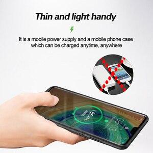 Image 5 - Pil şarj cihazı kılıfı için Huawei P20 Pro/Mate 20X/görünüm 10/P10/Mate 9 taşınabilir şarj cihazı bataryası kutusu şarj telefon kapağı güç banka çantası