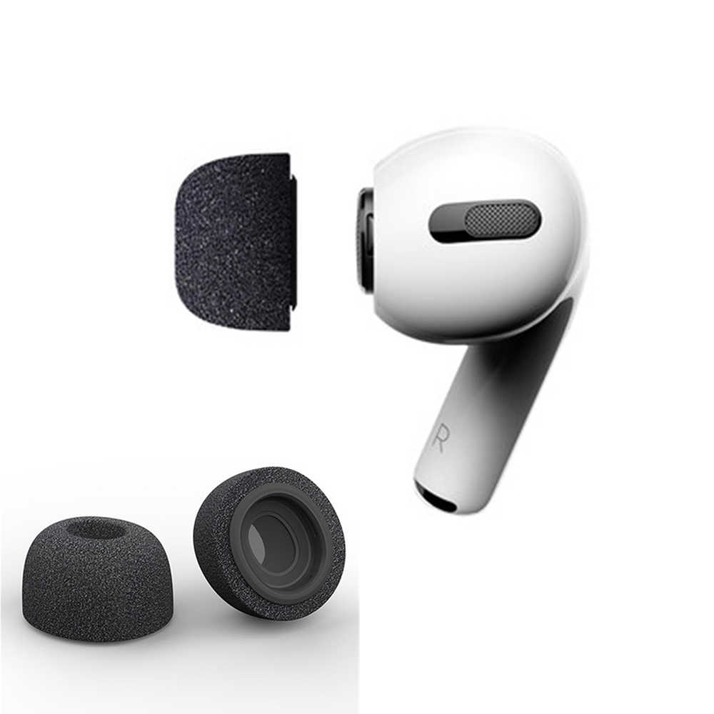 Sponge Silicone Air Foam Ear Tips Buds For Apple Airpods Pro