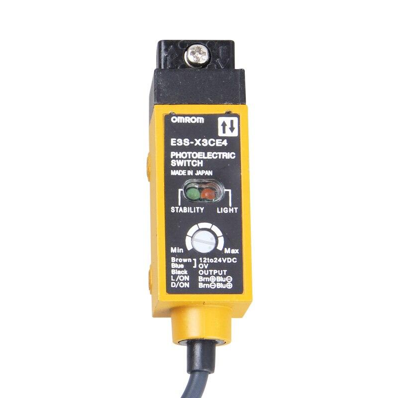 Free shipping high quality 100% new original Special Price .Autonomous E3S-X3CE4 Fiber Amplifier Photoelectric switch