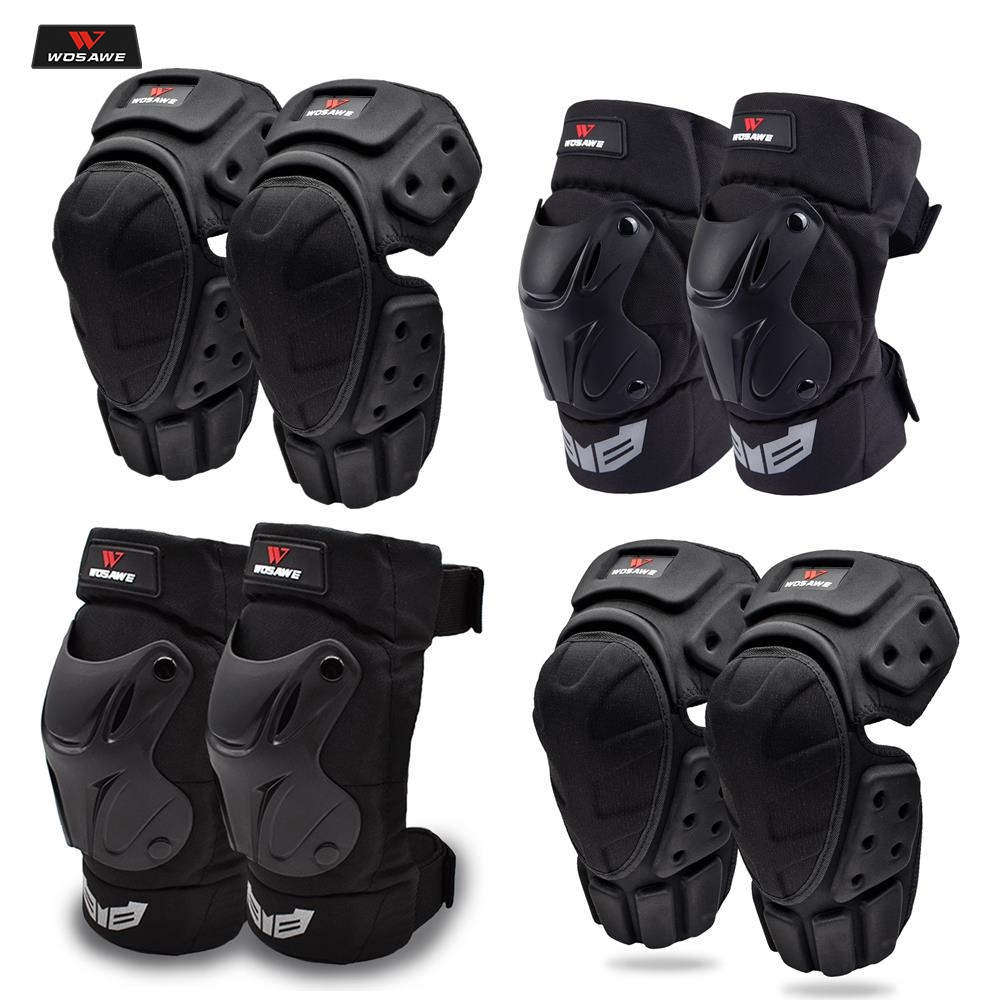 WOSAWE Motocross Knee Pads Elbow Protector motorcycles motorbike off-road racing protective gear Skiing Skateboarding guard