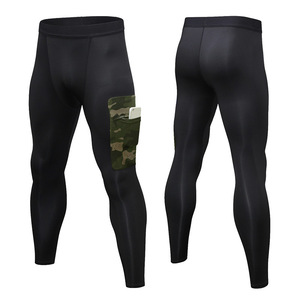 Men's camouflage pocket exerci