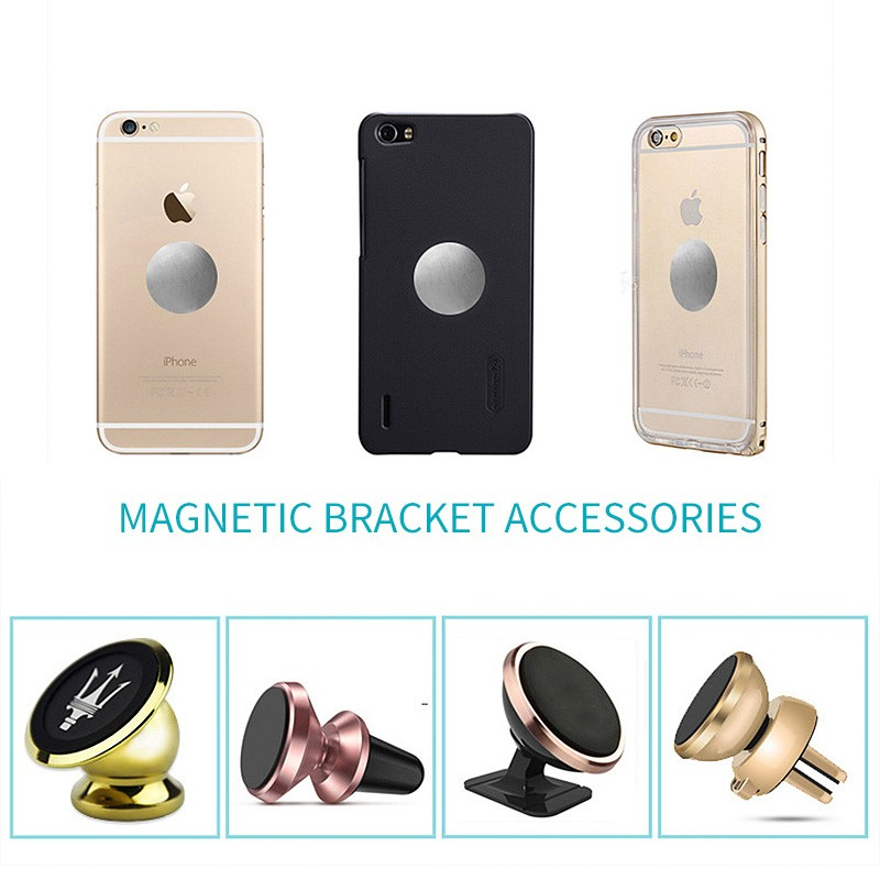 Universal Car Phone Holder Magnetic Holder For IPhone X 7 8 Plus Phone Holder For Xiaomi Car Holder 10pcs/1pcs Phone Stand