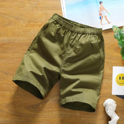 ZNG 2020 Summer New  Style Casual Pants Slim Shorts Men's Five-minute Trousers Summer Beach Pants Men's Cotton