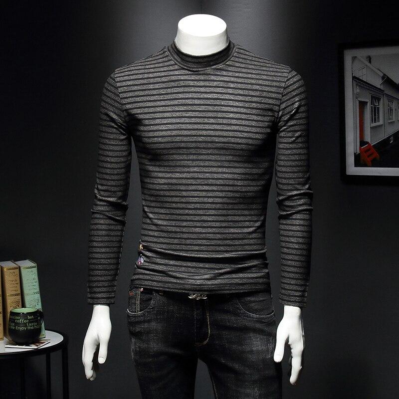 masculina tshirt estampa floral magro manga comprida camisas c41
