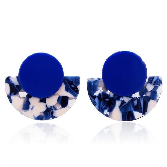 Blue Earrings for Women Sky Sea Color 6