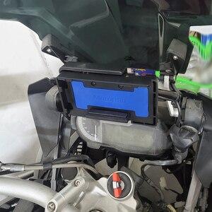 Image 5 - Dla BMW R1250GS R1200GS ADV S1000XR F850GS F750GS przygoda bezprzewodowa ładowarka szybkie ładowanie telefonu komórkowego uchwyt na nawigację