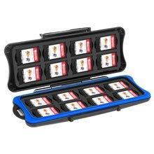 32 w 1 wodoodporny uchwyt na kartę pamięci do przełącznika gra Case skrzynia transportowa gra karciana uchwyt na pojemnik na na konsolę nintendo Switch Lite mini