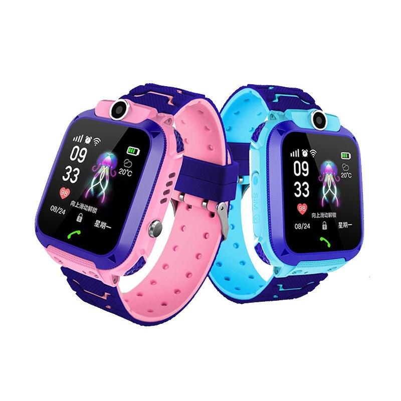 2019 Kids Smart Watch Sim Card Tracker IP67 Waterproof 2G Phone Watch Mutli-function Toy Photo LBS Watch Gift For Student
