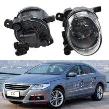 1 זוג רכב סטיילינג קדמי הלוגן אור ערפל מנורת ערפל אור לפאסאט CC 2008 2009 2010 2011