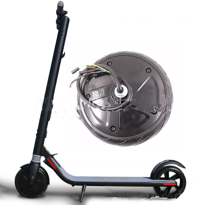 NINEBOT Ninebot No. 9 Electric Scooter ES1/ES2/ES3/ES4 Universal PartsFront wheel motor 350W 36V Motor assembly|Scooter Parts & Accessories|   - AliExpress