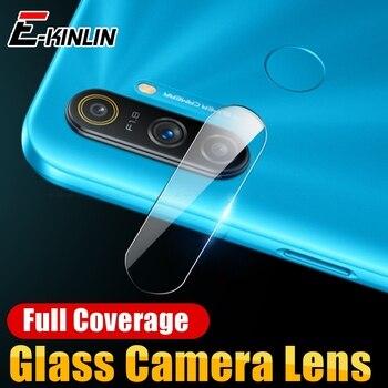 Перейти на Алиэкспресс и купить Защитная прозрачная пленка для задней камеры из закаленного стекла для экрана для OPPO Realme C3 C2 2 1 Narzo 10 10A Global