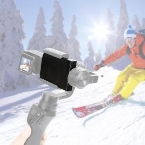 Image 3 - Adaptador de estabilizador de mano soporte de montaje conventor de cardán accesorios de placa de fijación para DJI OSMO para Sony RXO/RXO II