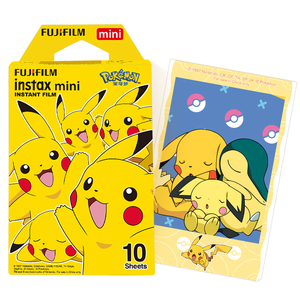 Image 2 - Fujifilm Instax Mini Film Instax Mini 8 / 9 Pokemon Pikachu Film For Fuji Mini 7s 25s 26 70 90 Instant Camera Share SP 1 SP 2