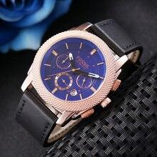 2020 модные брендовые мужские часы ископаемого спортивные кварцевые