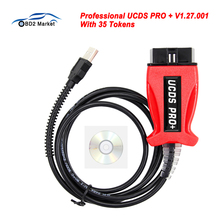 Professional UCDS PRO+ For FOCOM V1.27.001 Full Activate License With 35 Tokens UCDS pro Car ECU Programmer Tool for Ford Focus