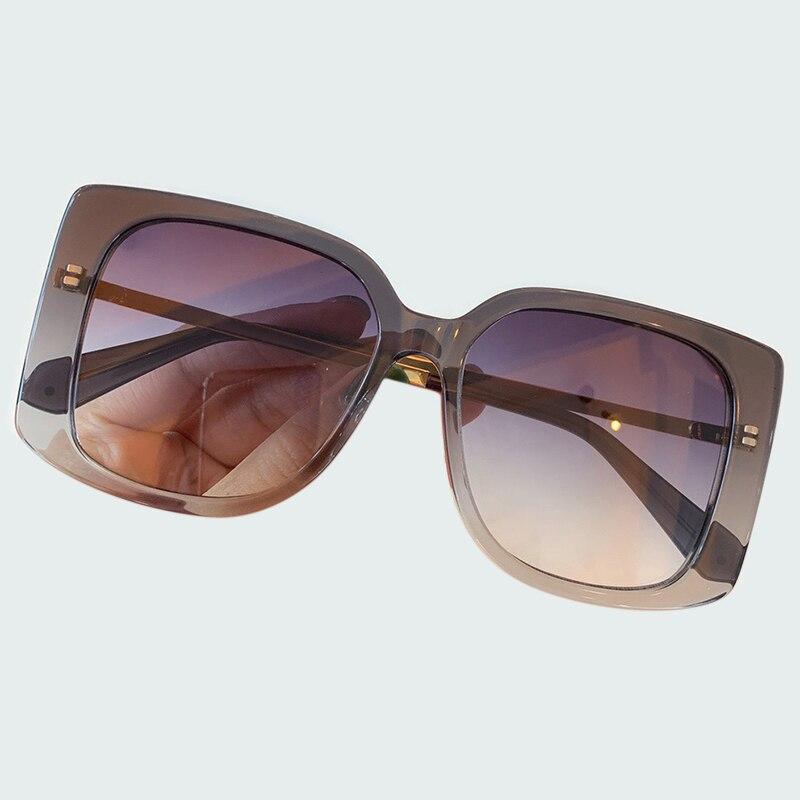 Роскошные солнцезащитные очки без оправы со стразами черного и белого цвета с рогом буйвола, мужские деревянные солнцезащитные очки, ретро ... - 2