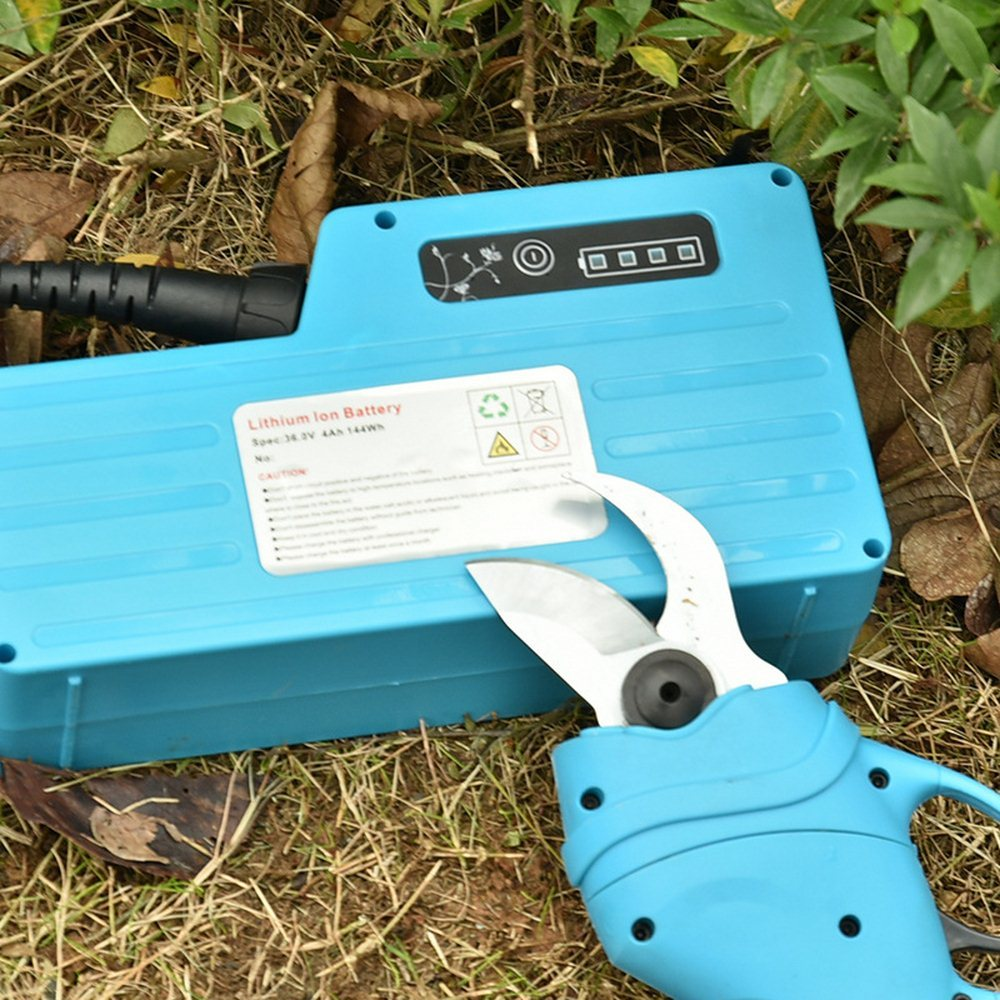 Tools : 110V 240V Electric Pruner Cutting Shears Garden Pruning Fruit Tree Trimmer Scissors