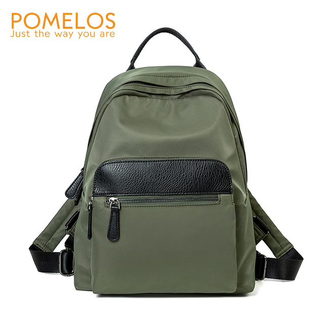 POMELOS Waterproof Women Backpack Fashion Backpack Women High Quality Fabric Roomy School Bag Travel Ladies Backpack Female