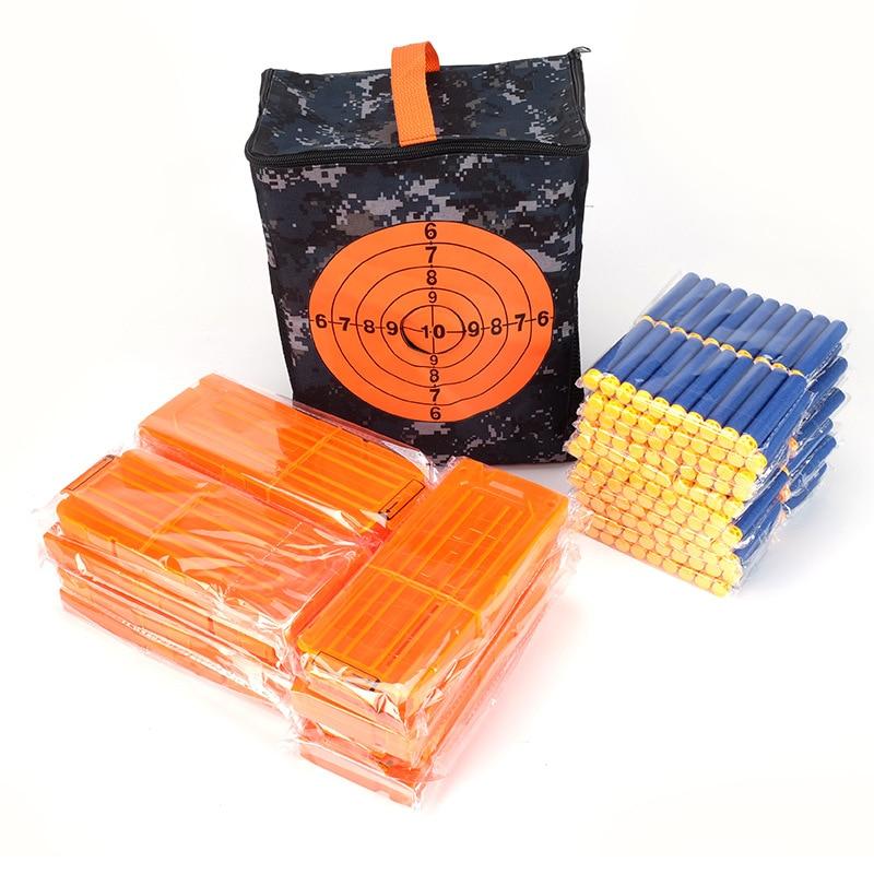 Target Bag Storage Bag Tactical Carrier Soft Bullet Storage Bag Compatible Nerf Soft Bullet Gun Fraction Target Bag
