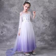 Elsa 2 Princess Snow White Bling Dress up Kids Dres