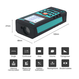 Image 2 - Mileseey Laser Telemetro Laser Digitale Tester di Distanza laser range finder distanza misuratore strumento