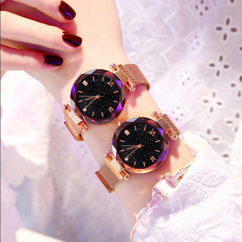 2019 Sale New Arrival None Alloy Buckle No Waterproof Fashion & Casual Stainless Steel Package Glass Round Quartz Wristwatches