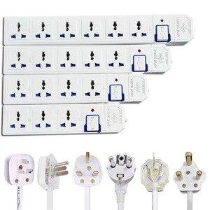 Image 1 - ขยายสายไฟAU CN EU US UK Plug Universalปลั๊กSocket Switch Power Board 1.5M Extension Cord 3500W 16A