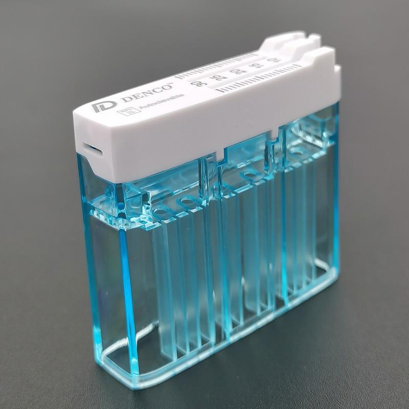 Dental Endo Files Sterilization Box 135 Degree Autoclavable Multi Function Measurement Box Dental File Organizer Endodontic File