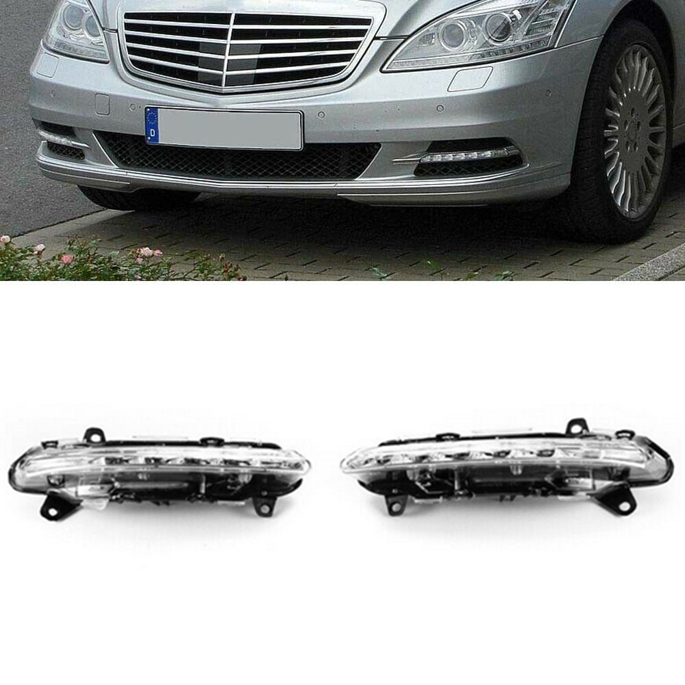 Left Right LED DRL Daytime Running <font><b>Light</b></font> Fog Lamp for <font><b>Benz</b></font> <font><b>W221</b></font> C250 C300 C350 CL550 CL600 S350 S400 S450 S550 GLK350 R350 image