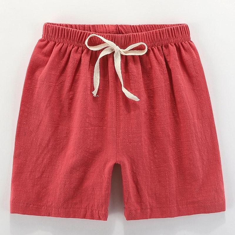 VIDMID boys girls cotton candu color shorts kids children cartoon colorful trousers clothes boys shorts girls trousers 4146 02 3