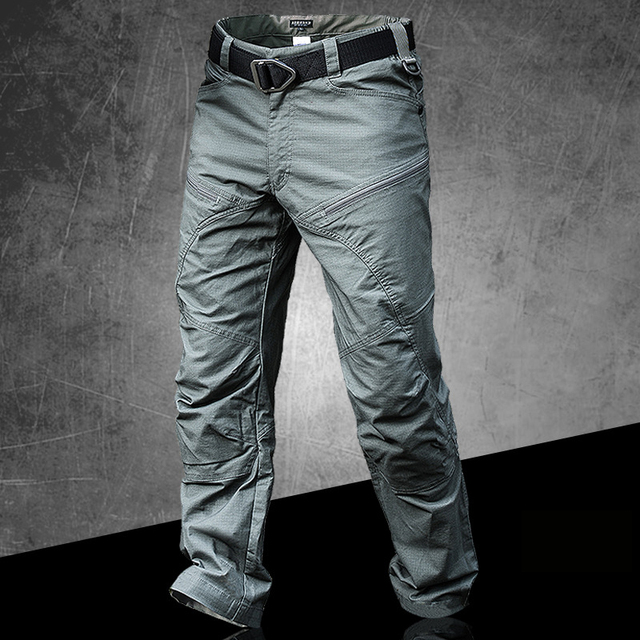 PAVEHAWK Cargo Pants Men Elastic Waterproof Army Tactical Military Hiking Trekking Jogger Casual Trousers Sweatpants Streetwear 4
