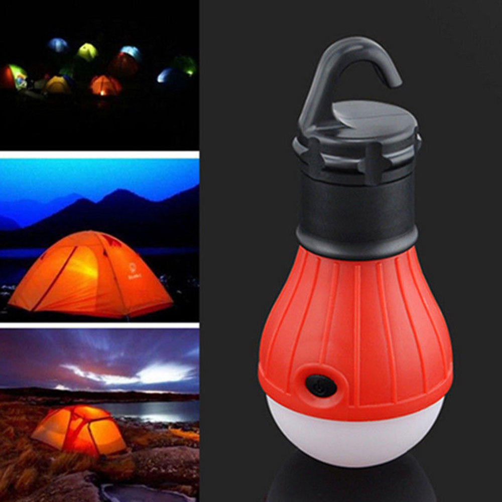 Tent Lamp Multicolor Fishing Travel Outdoor Lantern Lamp Portable 3LED Emergency Light Flashlight Camping Lights Hiking