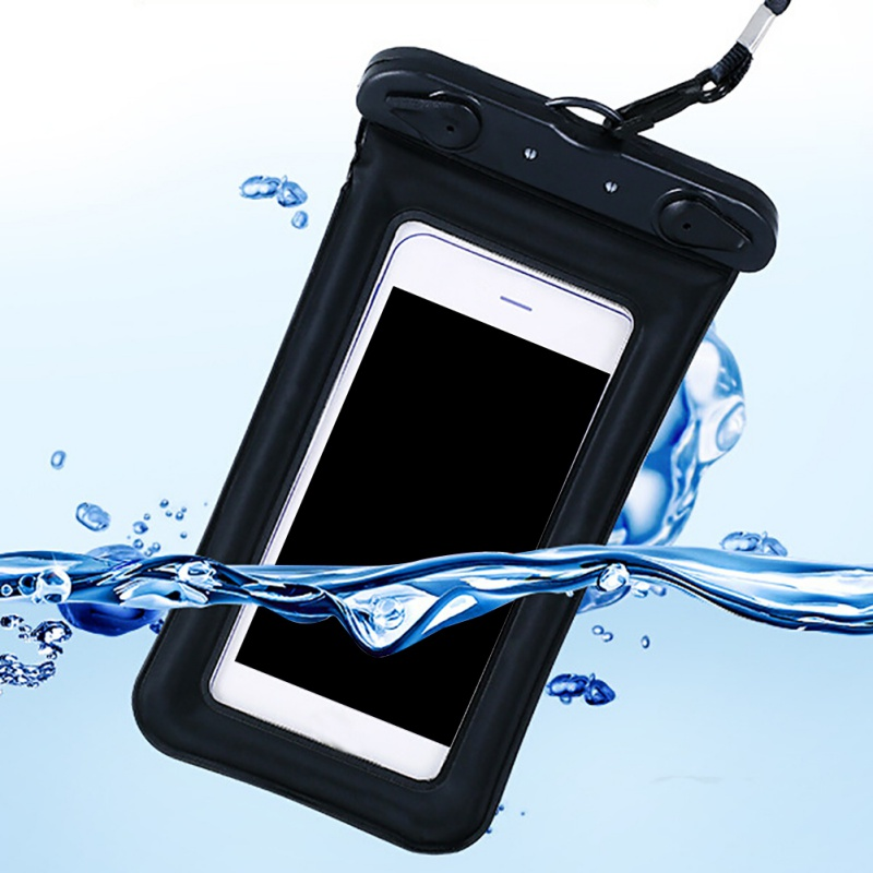 9 Colors Swimming Bag Waterproof Multi-style Valve Type Mini 6 Inches  For Smartphone Touch Screen Bag Phone Care Phone Bag