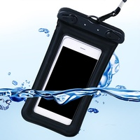 9 Colors Swimming Bag Waterproof Multi style Valve Type Mini 6 inches For Smartphone Touch Screen Bag Phone Care Phone bag