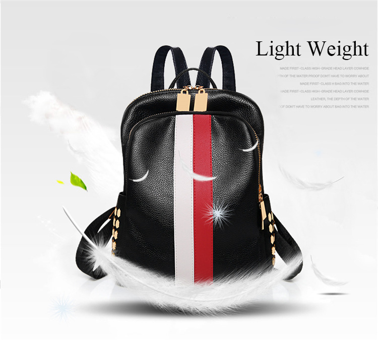 H0b5a306be7764317b8a37484cfb71a05z Luxury Famous Brand Designer Women PU Leather Backpack Female Casual Shoulders Bag Teenager School Bag Fashion Women's Bags