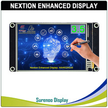 "3.5 ""NX4832K035 Nextion تعزيز HMI USART UART المسلسل مقاوم اللمس TFT وحدة عرض LCD لوحة لاردوينو التوت بي"