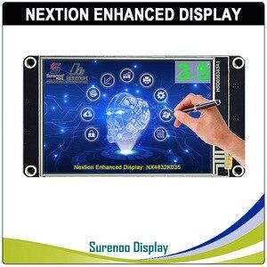 "Image 1 - 3.5 ""NX4832K035 Nextion gelişmiş HMI USART UART seri rezistif dokunmatik TFT LCD modül ekran paneli Arduino ahududu Pi için"